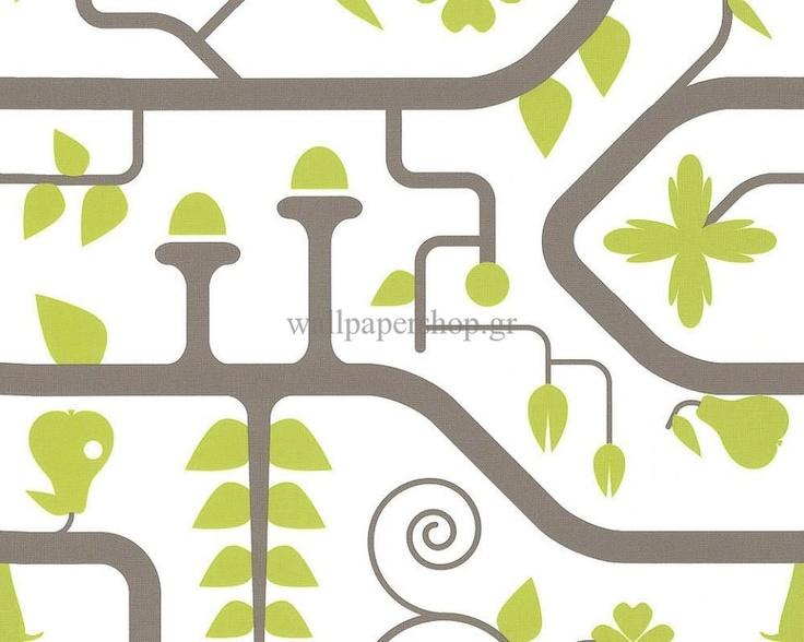 Ταπετσαρίες Τοίχου :: Σύγχρονες :: Lars Contzen 3 Lime No 3942 - WallpaperShop