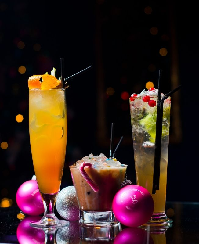 Festive cocktails at the g Hotel & Spa in Galway. www.theghotel.ie