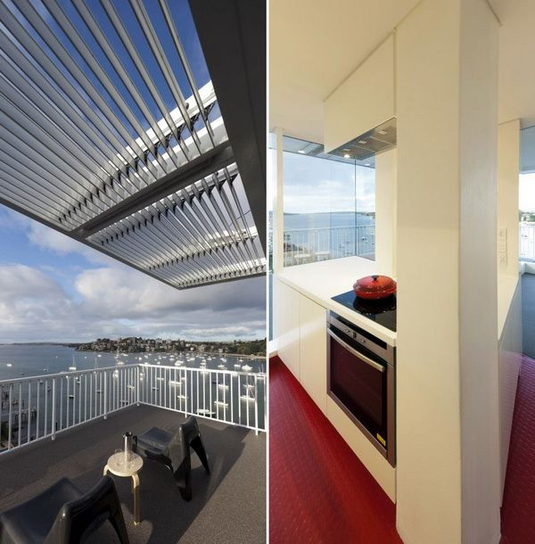 A Penthouse with Terrific Views and Movable Walls by Christopher Polly Architect