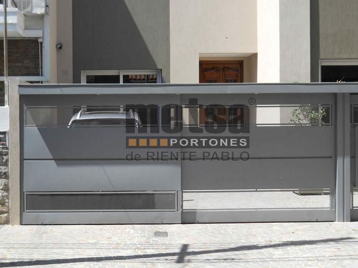 1000 ideas sobre portones corredizos en pinterest for Portones metalicos modernos