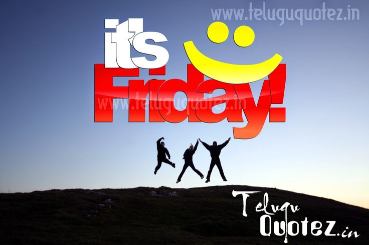 Teluguquotez.in: it's Friday image