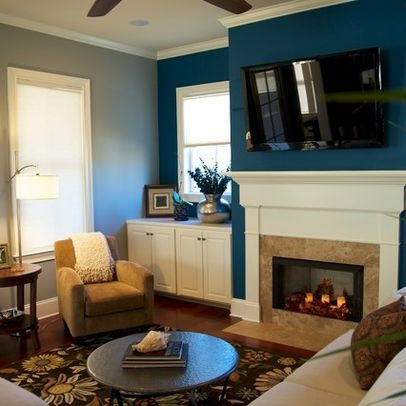 accent wall in living room hmmm add an accent wall maybe blue gray living room 18317