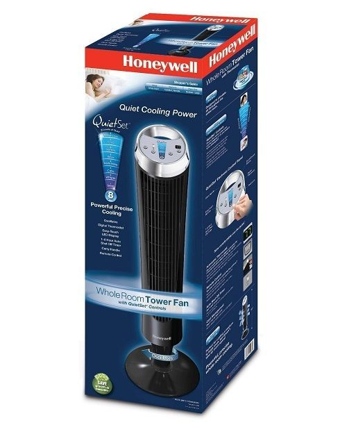 Cooling Fan for Room Oscillating Quiet Floor Fans With Remote Control Cool Air #Honeywell