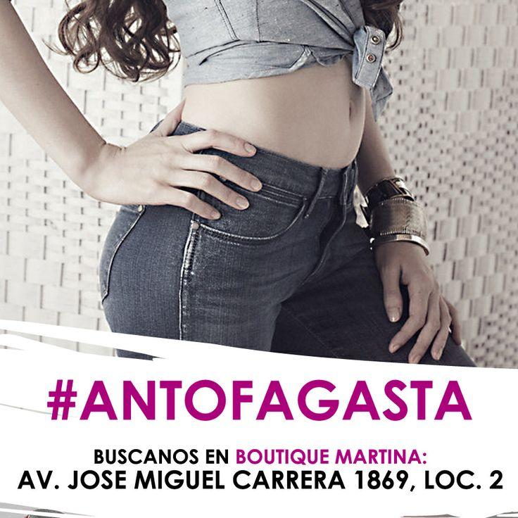 Antofagasta, estamos en Boutique Martina ubicada en Av. Jose Miguel Carrera 1869, local 2