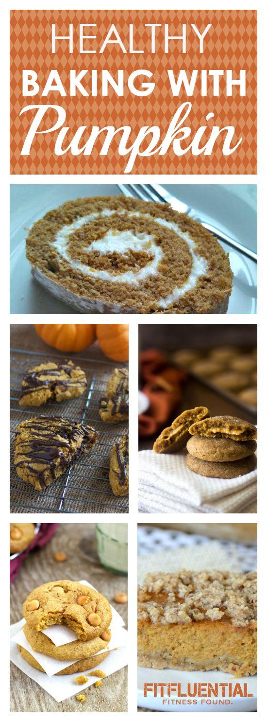 Healthy Pumpkin Baking Recipes