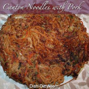 Canton Noodles with Pork