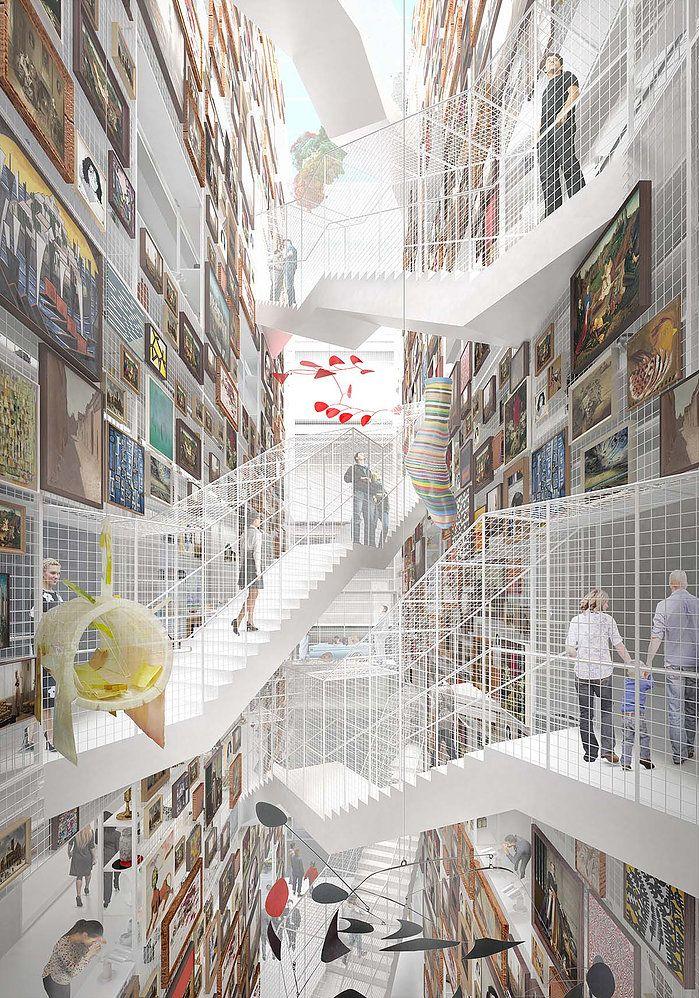 Construction Started On MVRDVs Public Art Depot In Museumpark Rotterdam