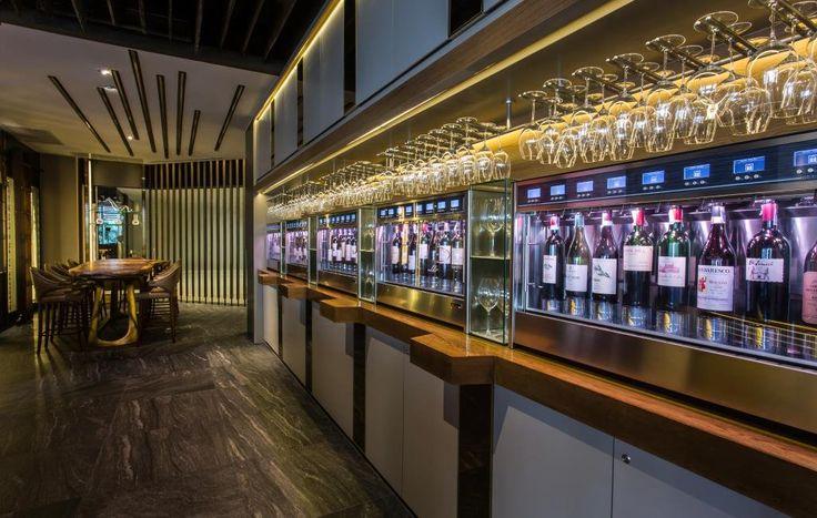 Riedel Wine Bar, Bangkok WineEmotion Wine Dispenser