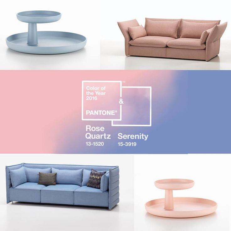 Kolory Roku Pantone 2016 to Serenity i Rose Quartz. Według Pantone kolory te obrazują równowagę i spokój. Pudrowy róż i jasny błękit mają królować nie tylko w szafach, ale też w meblach i dekoracji wnętrz.