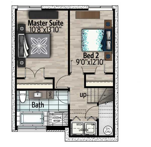 The 25 best split level house plans ideas on pinterest for Split level house plans with walkout basement