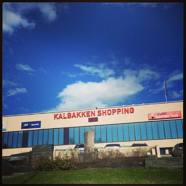 Kalbakken Shopping senter mai 2013