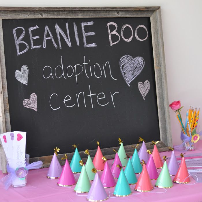 Beanie Boo Adoption Party                                                                                                                                                      More