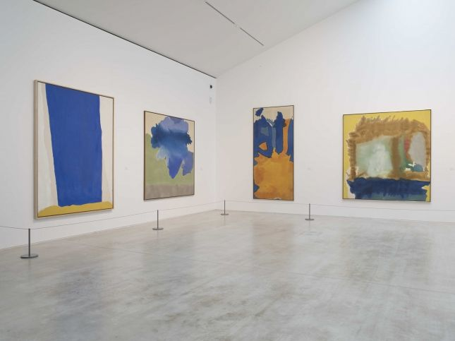 Making Painting: Helen Frankenthaler and JMW Turner, installation view at Turner ContemporaryPhoto Stephen White