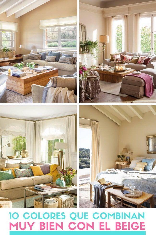 10 Colores Que Combinan Con El Beige Decoracion En Color Beige 2020 Home Color My Home