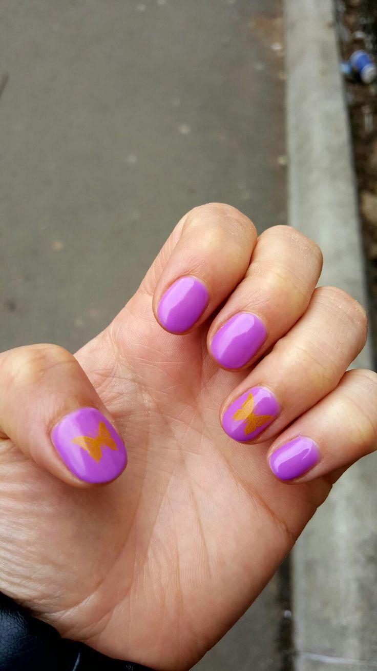 Semi permanent nails