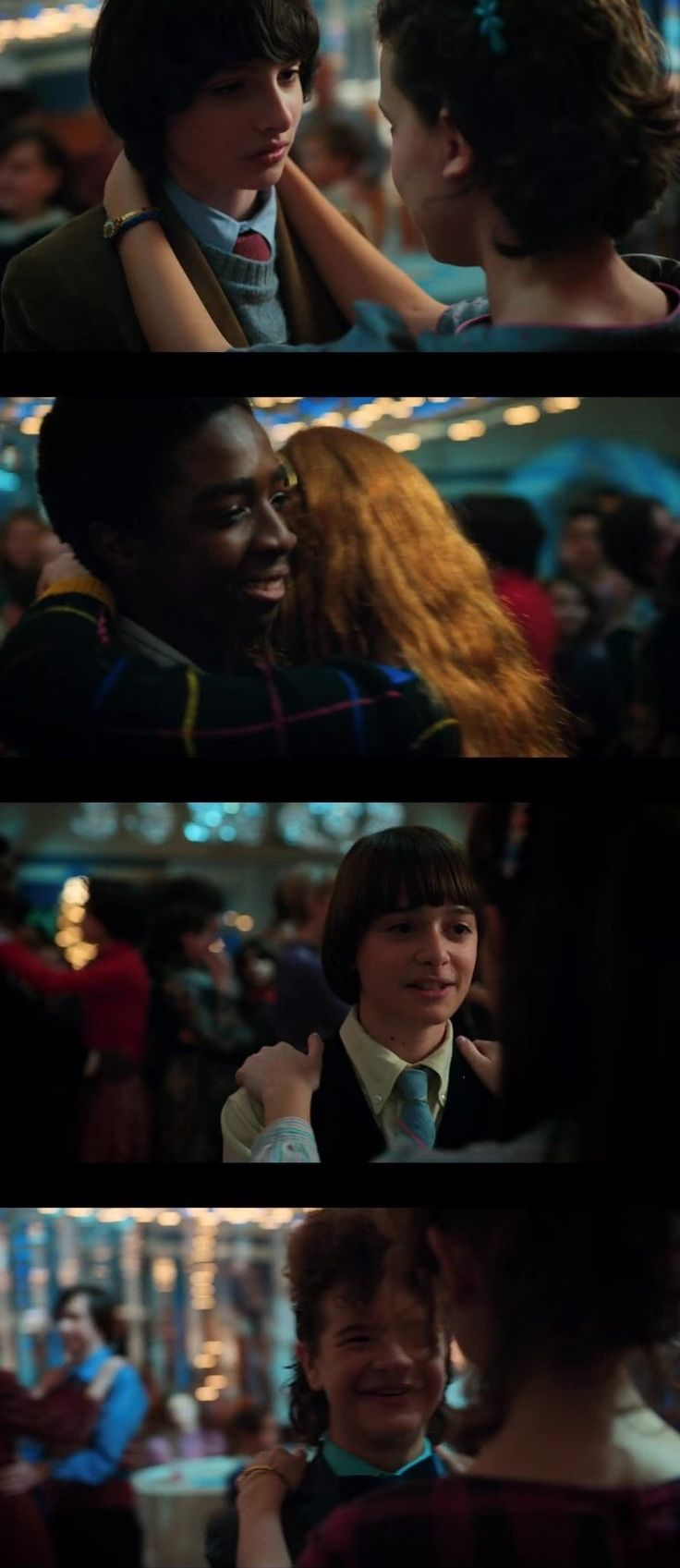 Y'all... I cried. They finally made it to the Snowball! Stranger Things 2