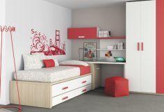 Dormitorio infantil juvenil moderno, 43-19 -