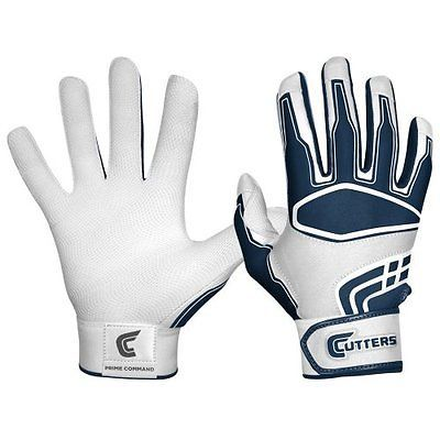 Cutters gloves men's prime #command #baseball batting glove, #white/navy, large,  View more on the LINK: http://www.zeppy.io/product/gb/2/291719841393/