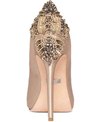 Badgley Mischka Shoes, Dree II Evening Pumps - Evening & Bridal