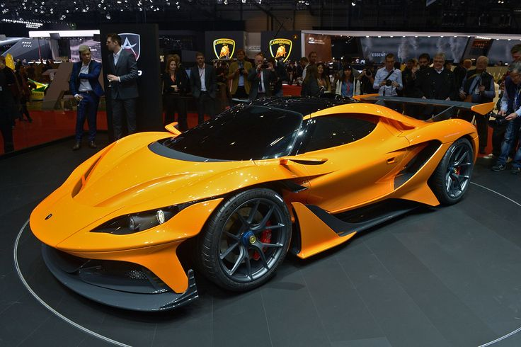 What was once known as the Gumpert Apollo has resurfaced at the 2016 Geneva Motor Show in the form of the Apollo Arrow with sleeker styling and more power.