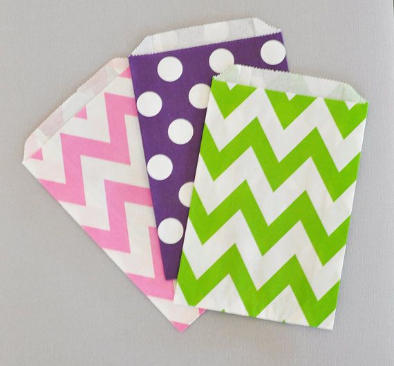 Candy Buffet Favor Bags  Goodie Bags for Wedding Candy by ModParty, $8.00