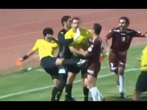 Top 15 Crazy and Funny Red Cards