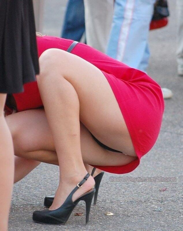Upskirt Bend Over Mini Skirt Sex