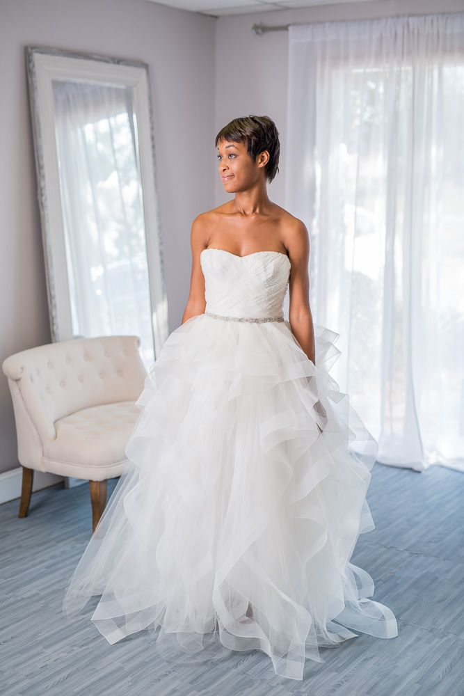 Reem Acra - Eliza - for rent or sale on Borrowing Magnolia.  Try on this gown for just $40 before you borrow or buy.  The best part?  You can try it on AT HOME, on your timeline, with your best friends.   Save money on designer wedding dresses.  Reem Acra wedding dress for rent.  Reem Acra wedding dress for sale online.  How do I sell my wedding dress?  Where can I rent out my wedding dress online?