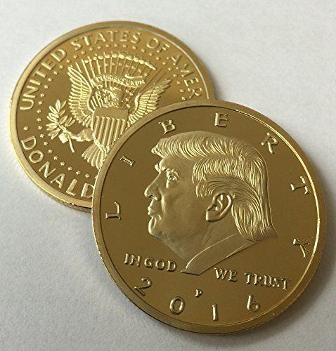 Donald Trump 2016 24kt Gold Plated EAGLE Presidential Commemorative Coin 30mm https://www.safetygearhq.com/product/trending-products/election-day-suits-gadgets/donald-trump-2016-24kt-gold-plated-eagle-presidential-commemorative-coin-30mm/