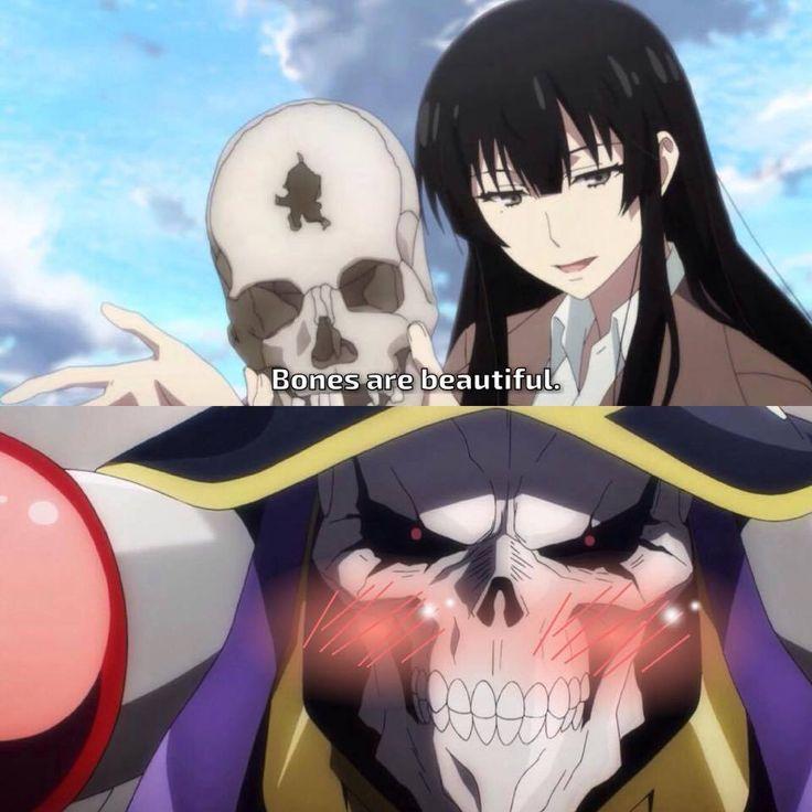Sakurako-san and Overlord