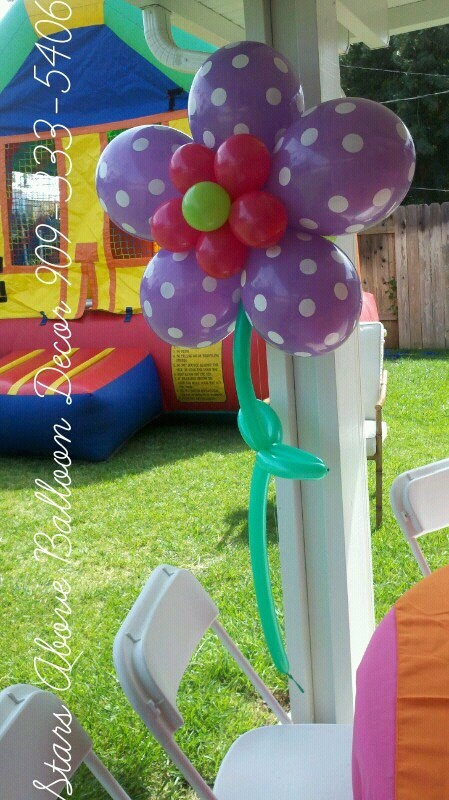 Large 4foot flower perfect for lalalopsy party
