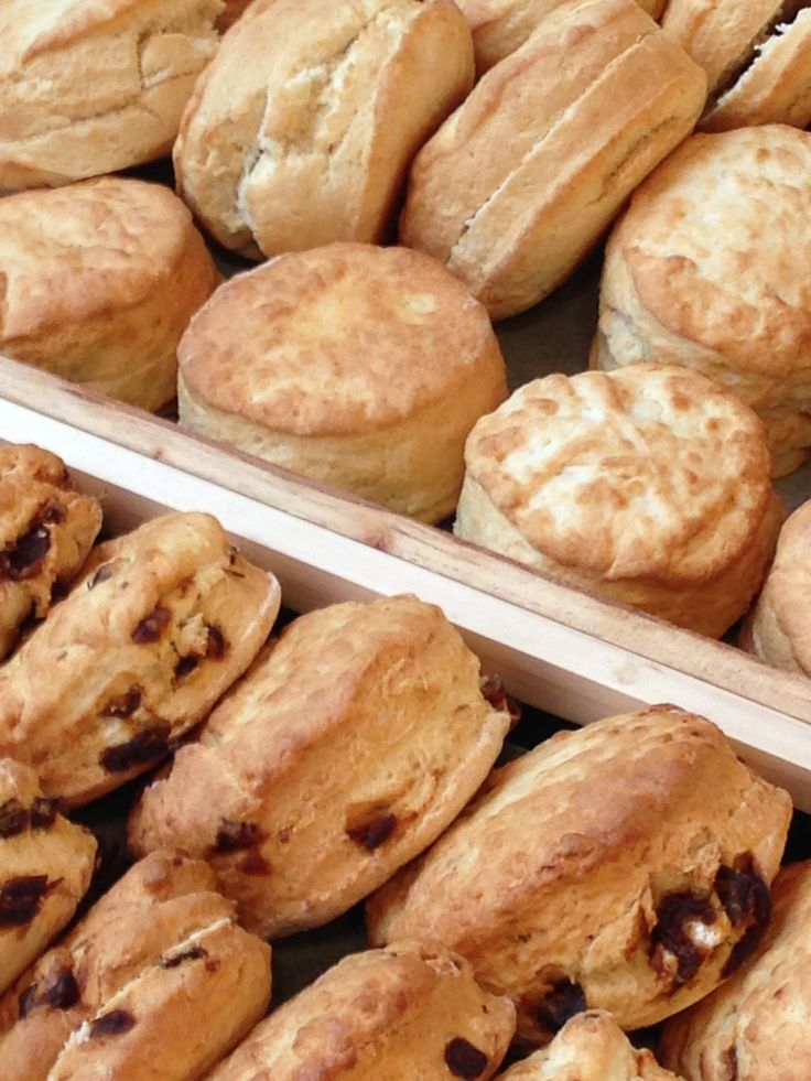 Delicious freshly baked scones from our kitchen