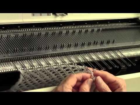Finish a Knit Piece with Mock Rib by Diana Sullivan - YouTube