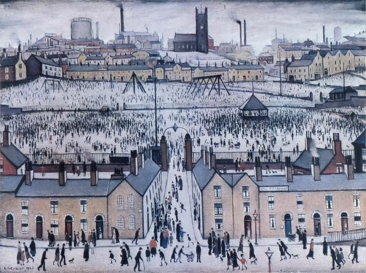 LS Lowry 'Britain at play' (1943)