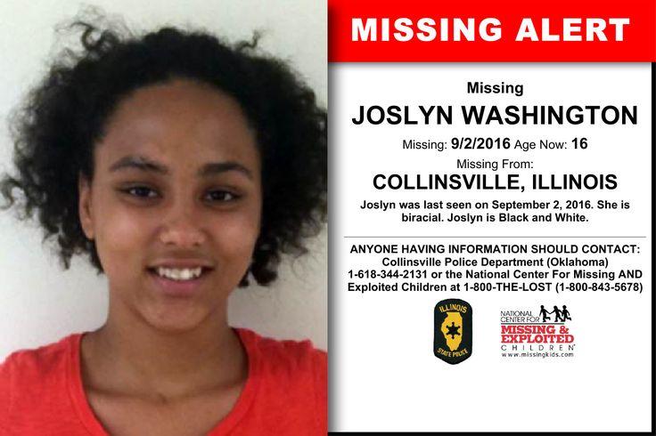 Missing collinsville teen