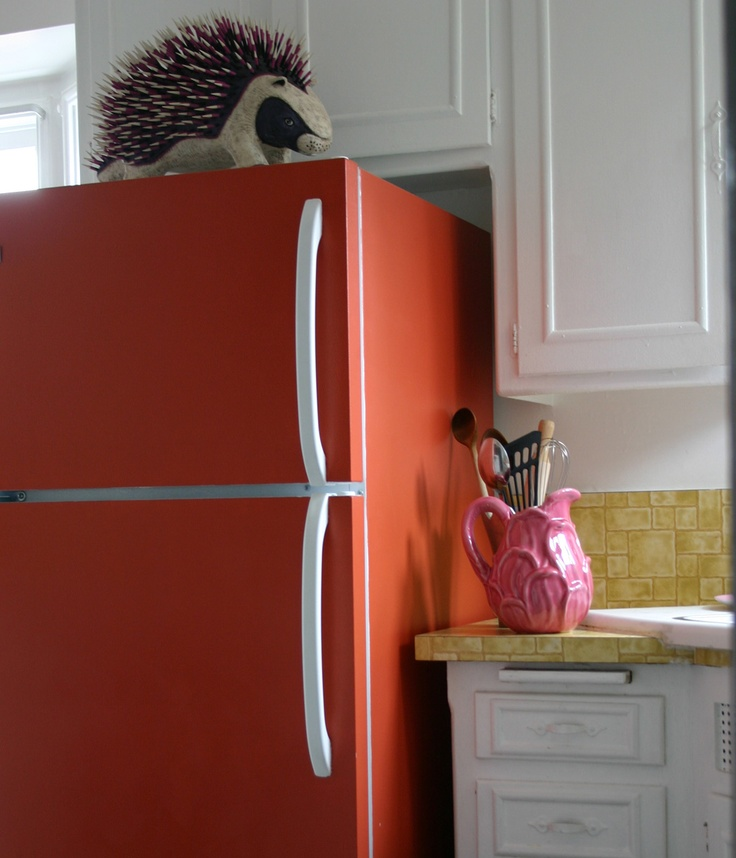 Paint your fridge whatever colour you want