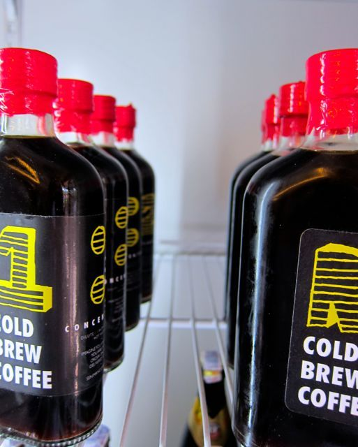 Cold Brew Coffee - launched by Seniman Coffee Studio.  R2D = READY TO DRINK, 1:1 = CONCENTRATE.  Now available!