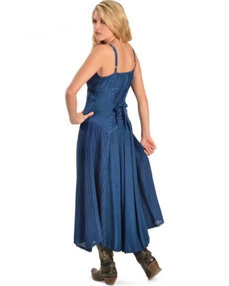 Innovative Womens Western Dress - U0026quot;Country Charmu0026quot;