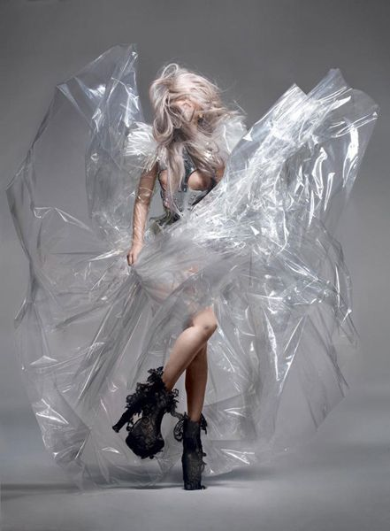 lady gaga & nick knight photography