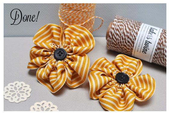Hello everyone! Get ready for another fun project. These simple ribbon flower clips are a snap to make and they look like a million bucks.     Your supply list: 1. 5 strips of ribbon cut to approximately 4 inches long. The longer your ribbon the fuller your petals will be.  The ribbon can be ... [Read more...]