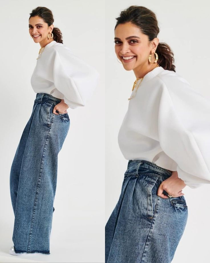 Deepika Padukone steps out in her favourite oversized ...