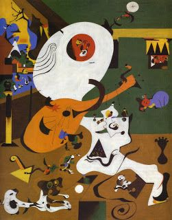 14 mejores im genes sobre l 39 interpicturalit en pinterest for Joan miro interieur hollandais
