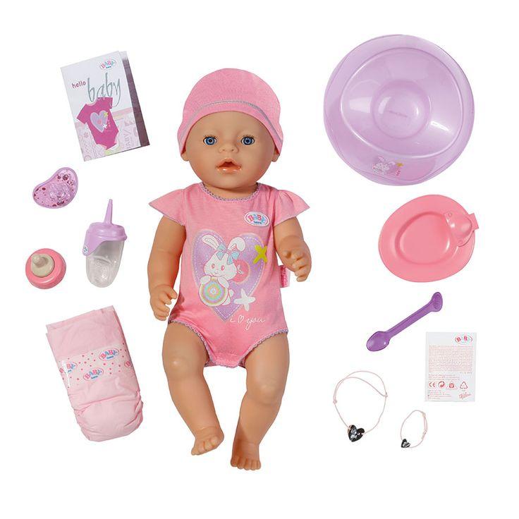 Baby Born Interactive Doll - Girl | Toys R Us Babies R Us Australia
