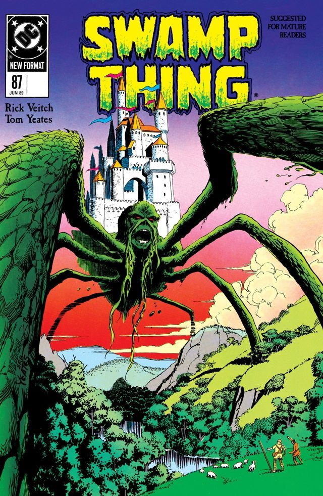 Swamp Thing (1982-1996) #87 Swamp Thing's journey through time continues as he finds himself in the age of Camelot, where he meets the Demon.