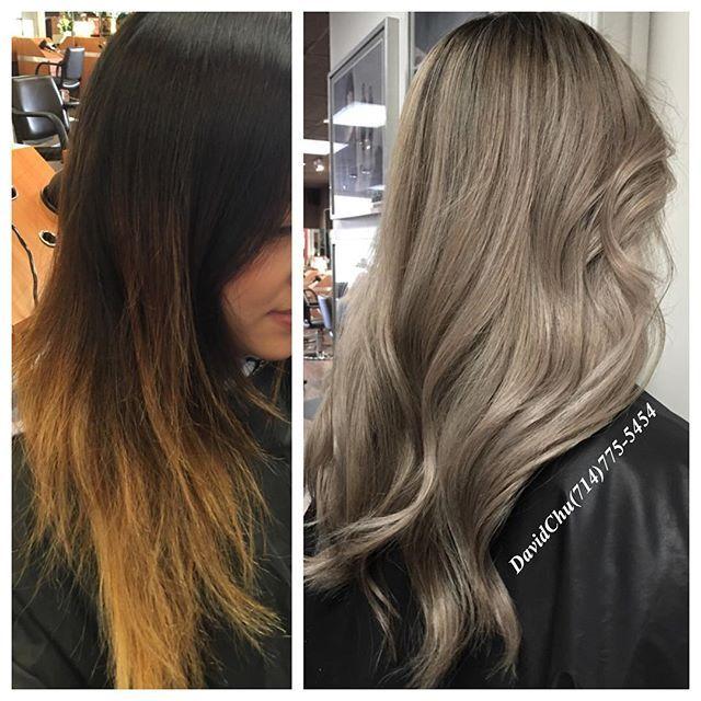 No brassy yellow orange hair #Colorcorrection #hair2001 #behindthechair #ramireztransalon #modernsalon #butterflyloftsalon #ombrehair #colorist#hairstylist #hairstyle #haircolor #blonde #balayage #hairsalon #blonde #colorist