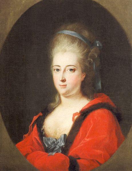 ca. 1775 Philippine von Brandenburg-Schwedt, Landgräfin von Hessen-Kassel by ? (location unknown to gogm)