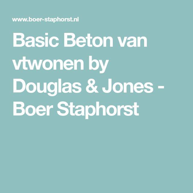 Basic Beton van vtwonen by Douglas & Jones - Boer Staphorst