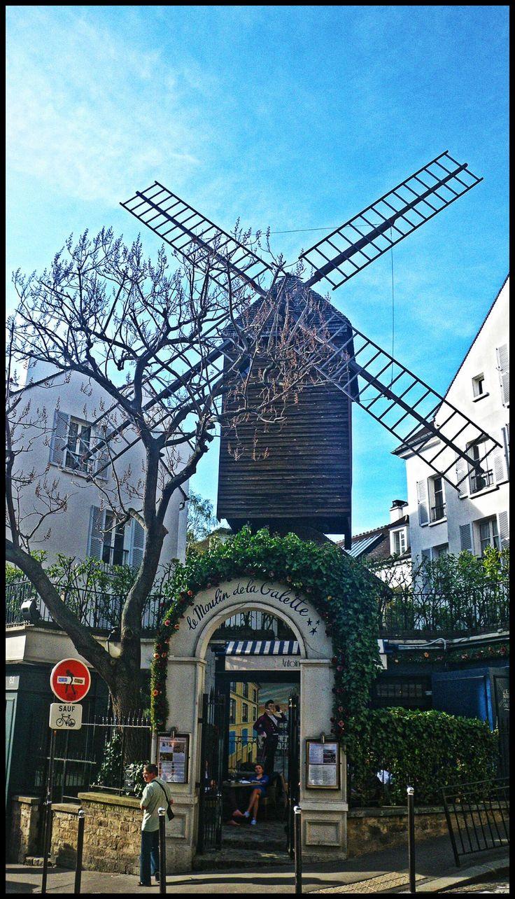 Paryż atrakcje Moulin de la Galette