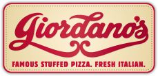 Founded in 1974, Giordano's Famous Stuffed Pizza is one of the very few pizza companies that can be credited with pioneering Chicago's international reputation for Chicago-style pizza.  Stuffed with pride, Giordano's now offers a full menu, including thin-crust pizza, sandwiches, salads and a full range of fresh Italian specialties.