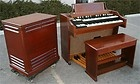 Leslie Speaker Hammond - BEAUTIFUL MAHOGANY HAMMOND A 100 ORGAN AND MATCHING LESLIE 122 SPEAKER 3 C B $3,395  For More Info Go To:http://www.buymypiano.com/leslie-speaker-hammond/#